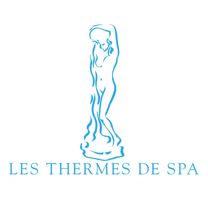 Les Thermes de SPA vector logo