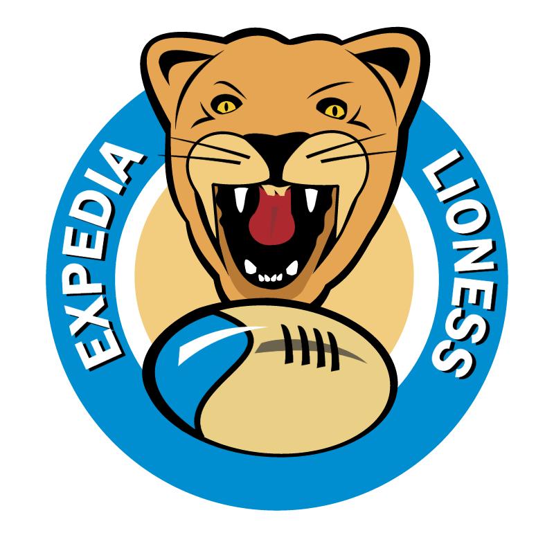 Lioness vector logo