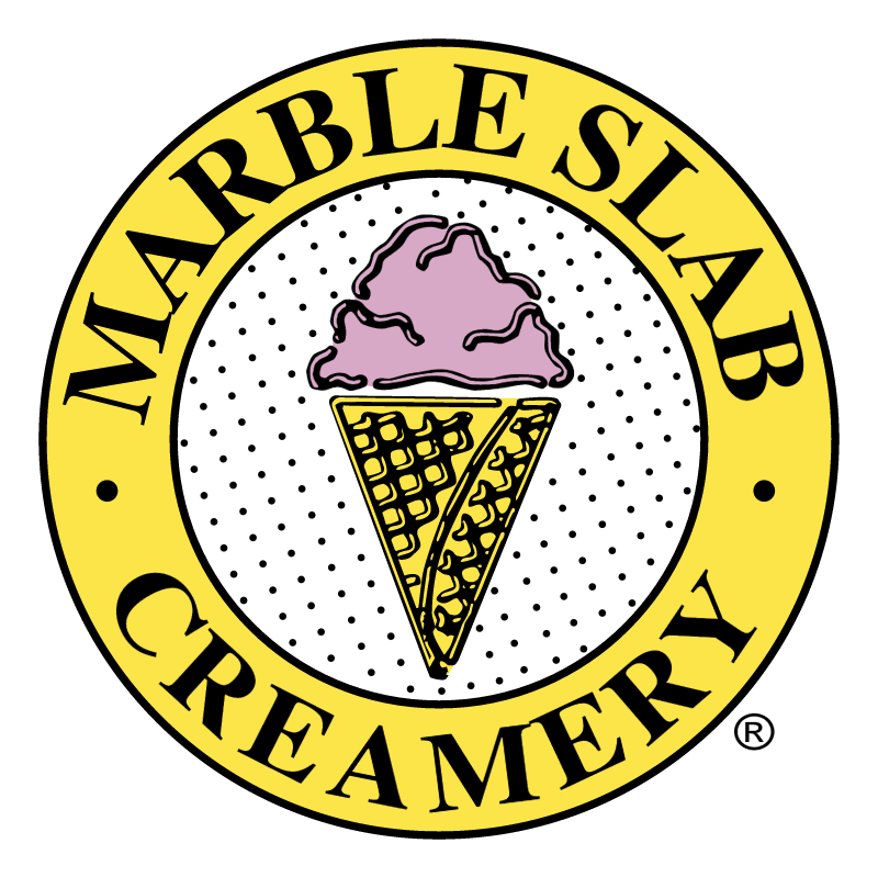 Marble Slab Creamery vector