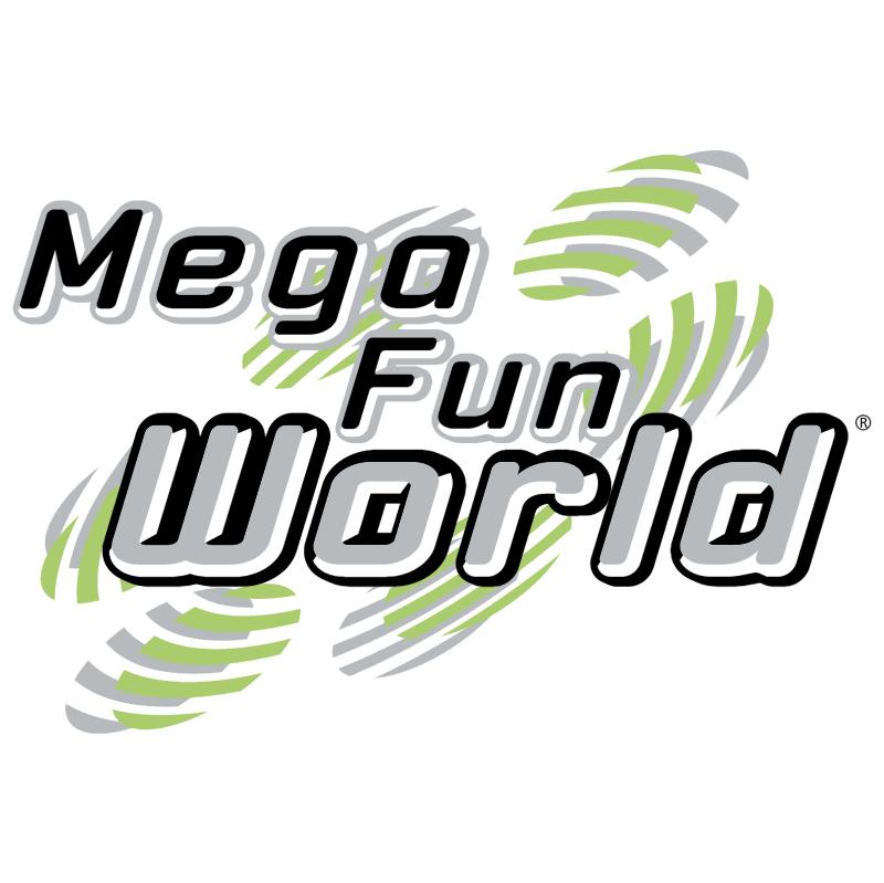 Mega Fun World vector logo