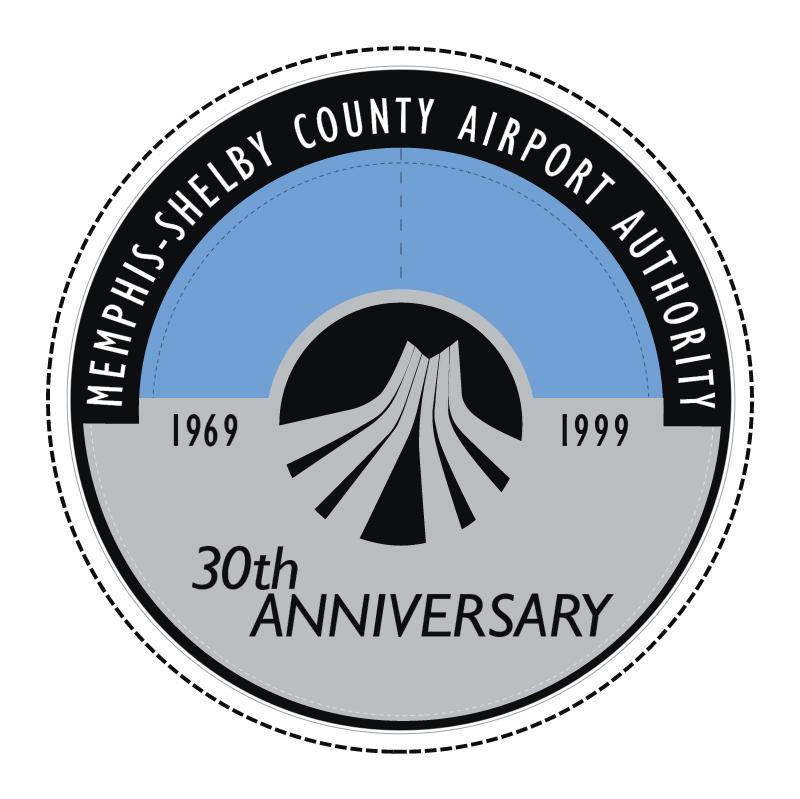 Memphis International Airport vector logo