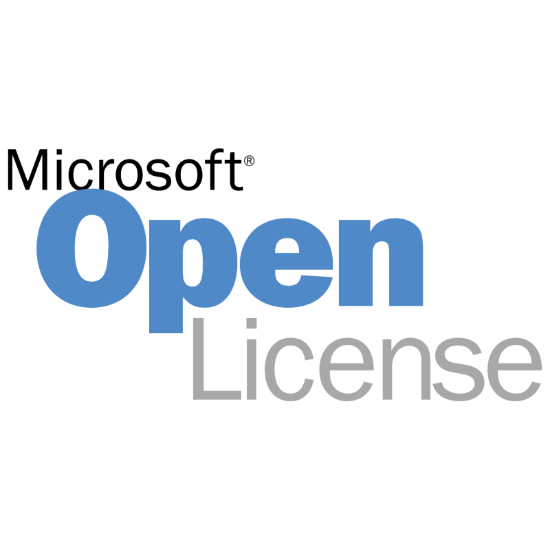 Microsoft Open License vector