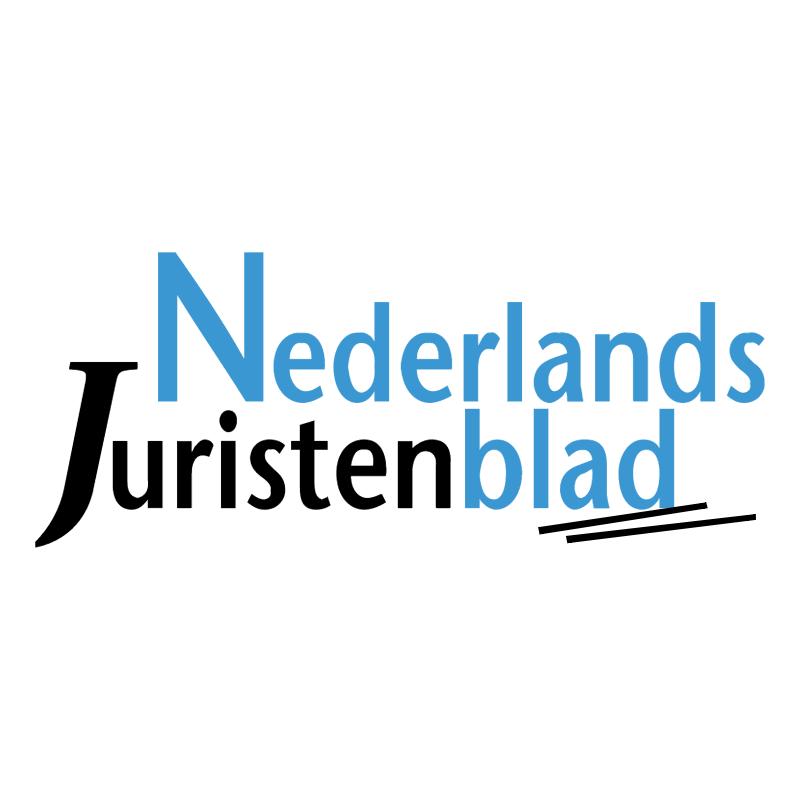 Nederlands Juristenblad vector logo