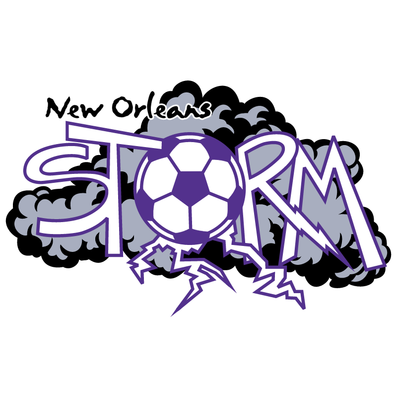 New Orleans Storm vector