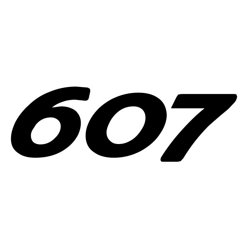 Peugeot 607 vector