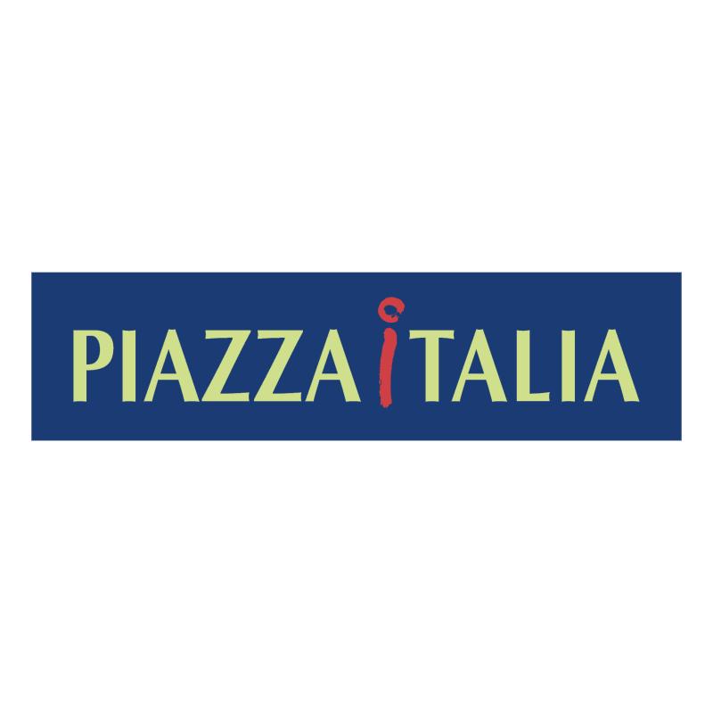 Piazza Italia vector