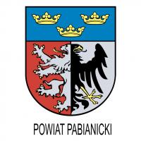 Powiat Pabianicki vector