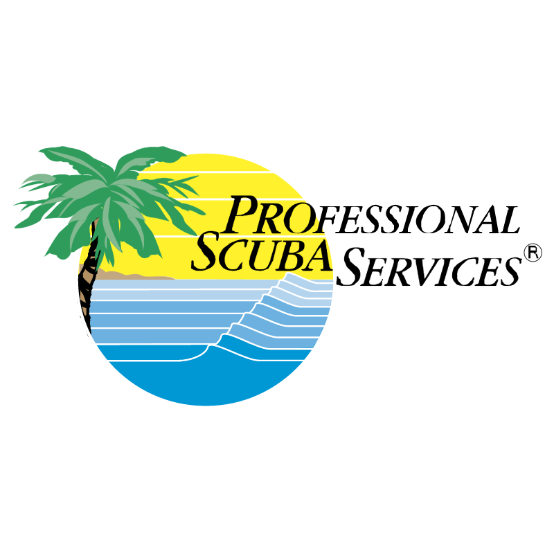 Professional Scuba Services vector