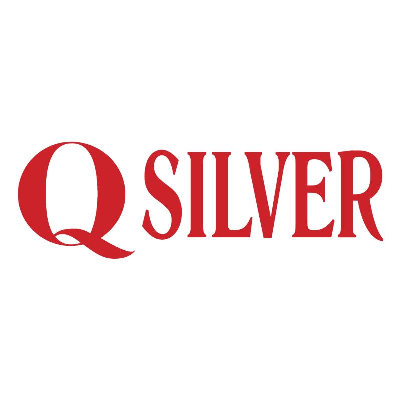 Q Silver vector logo