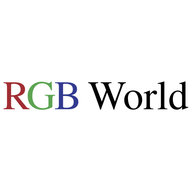 RGB World vector