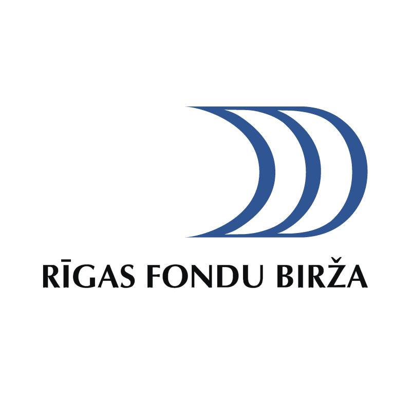 Rigas Fondu Birza vector logo