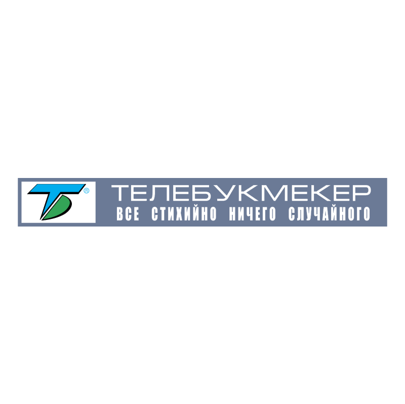 Telebukmeker vector logo