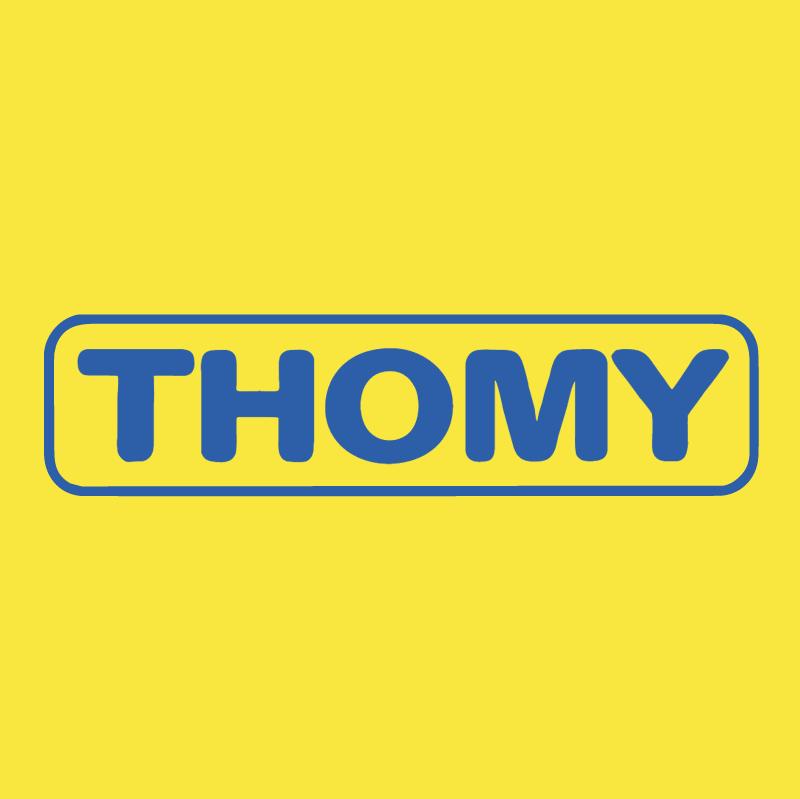 Thomy vector logo