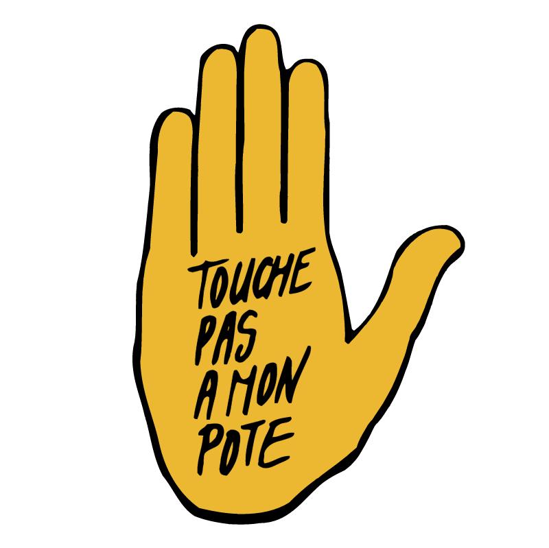 Touche Pas A Mon Pote vector