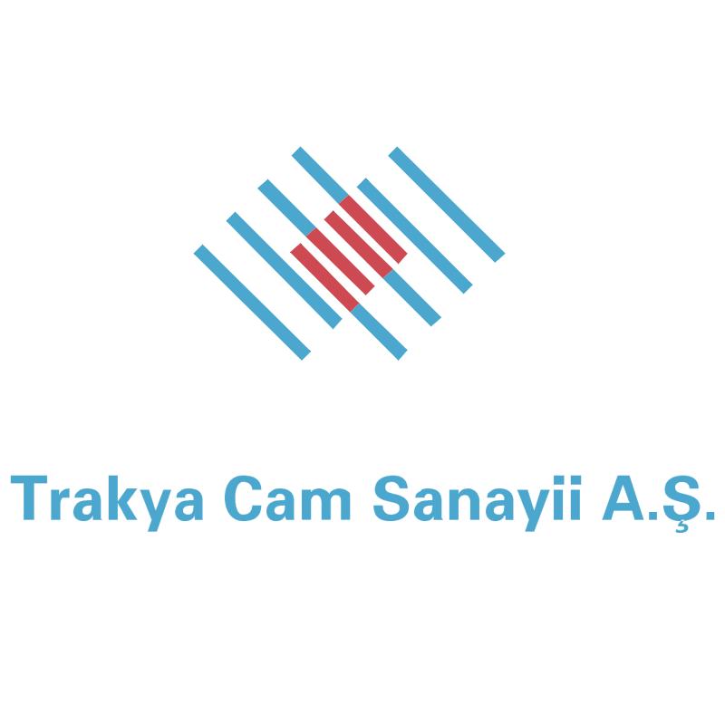 Trakya Cam Sanayii vector logo