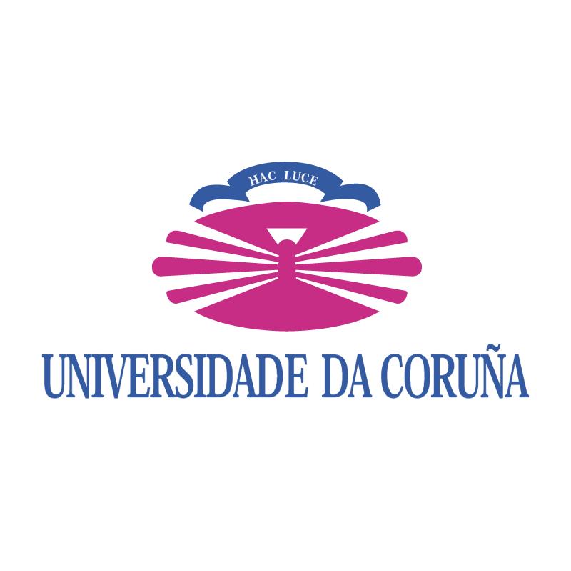 Universidade Da Coruna vector