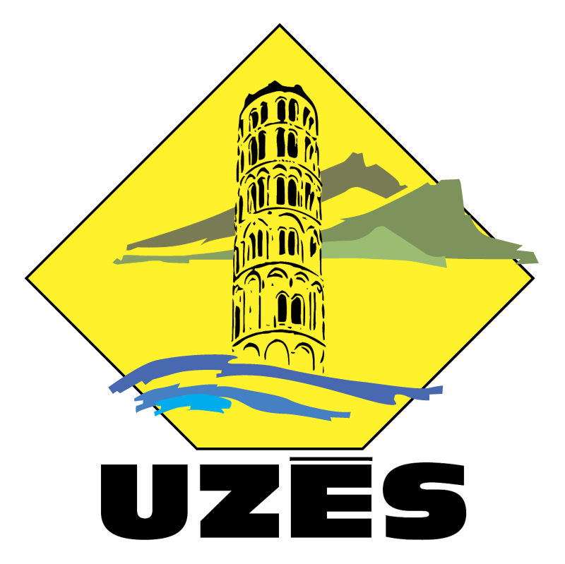 Ville de Uzes vector logo