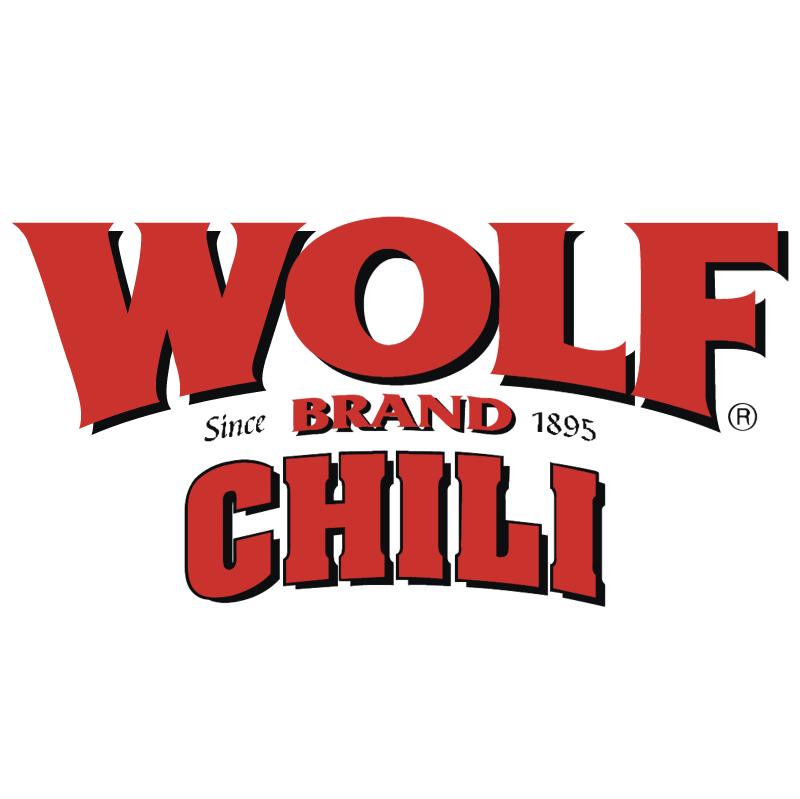 Wolf Brand Chili vector