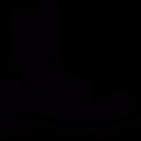 Big boot vector