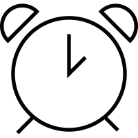 Old Clock alarm vector