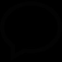 Speech Bubble Message vector