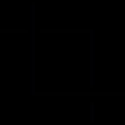 Crop, IOS 7 interface symbol vector logo