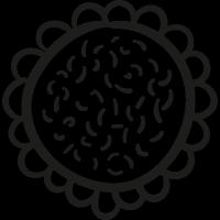 Garden Sunflower vector