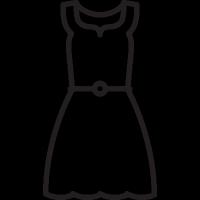 Long Dress vector