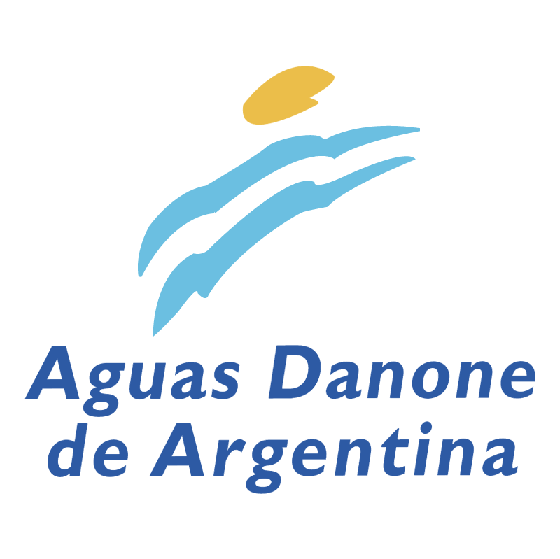 Aguas Danone de Argentina vector