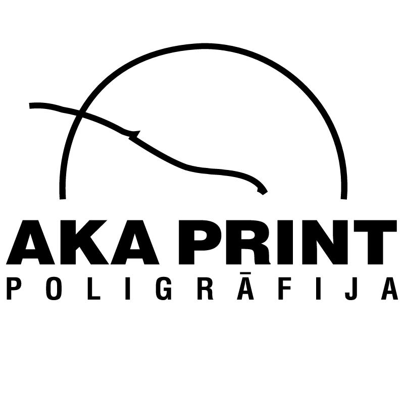 Aka Print vector