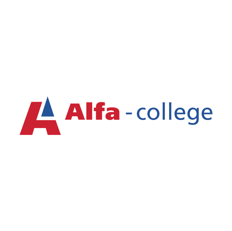 Alfa College vector