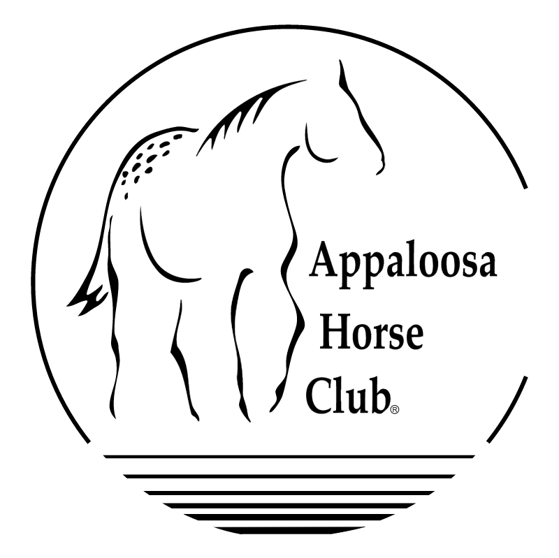 Appaloosa Horse Club 70670 vector