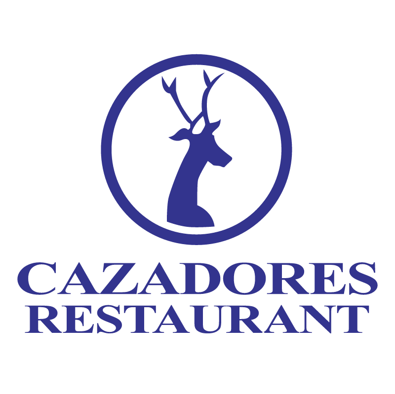 Cazadores Restaurant vector