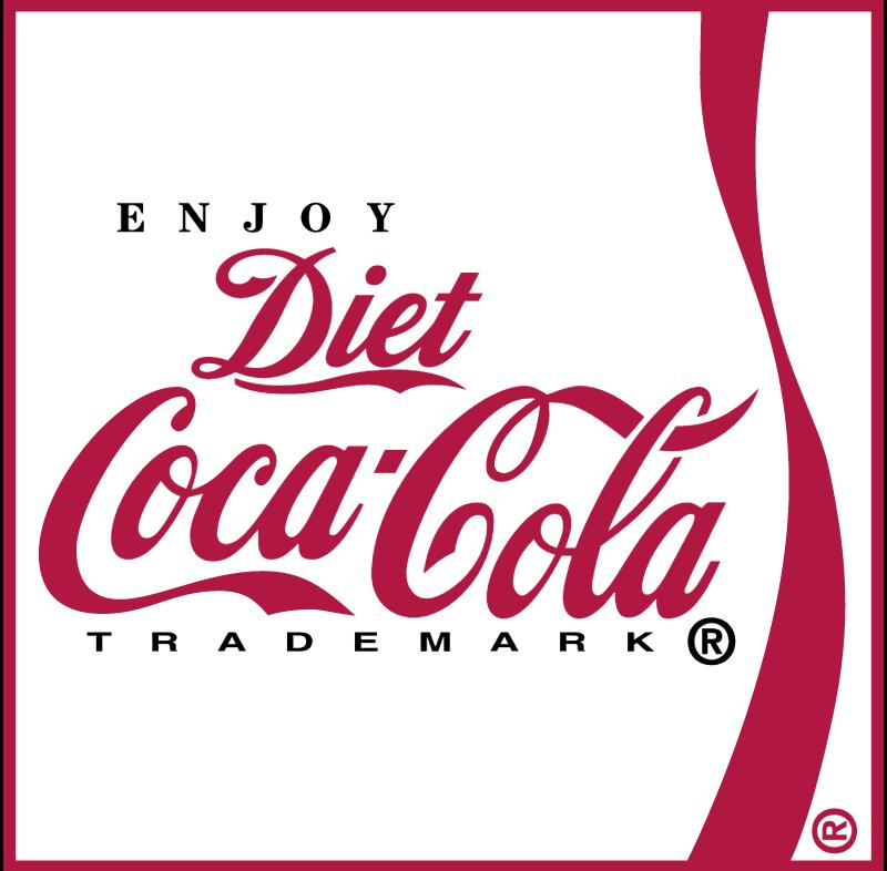 Coca Cola Diet 3 vector