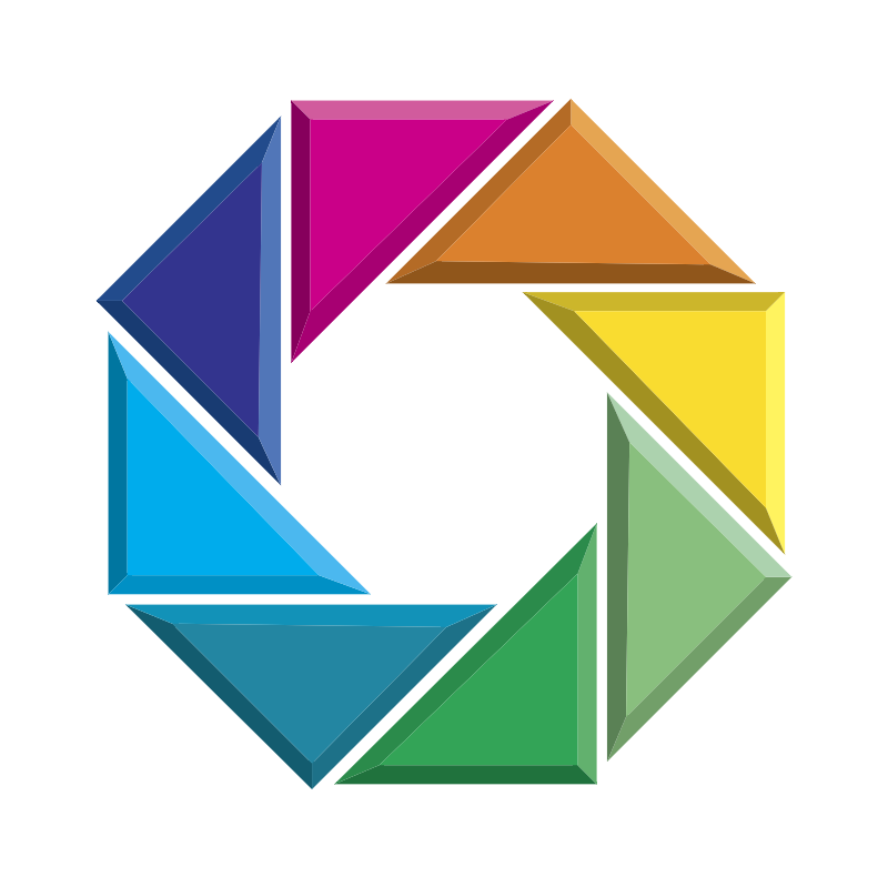 Color Services vector logo