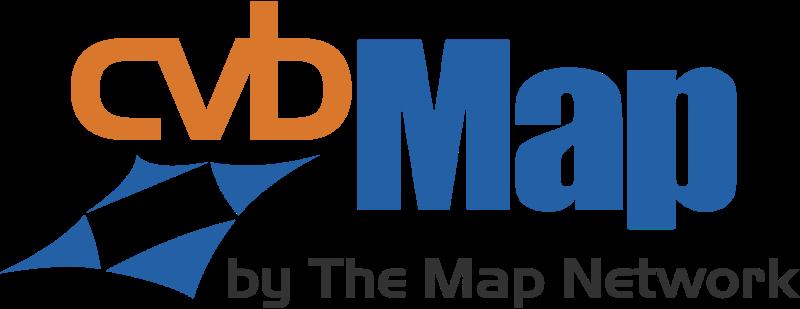 CVB MAP vector logo