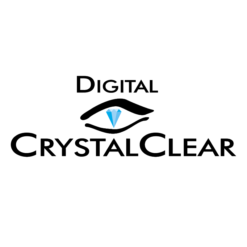 Digital CrystalClear vector