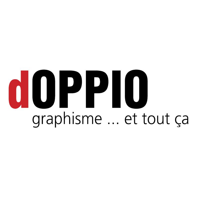dOPPIO vector logo