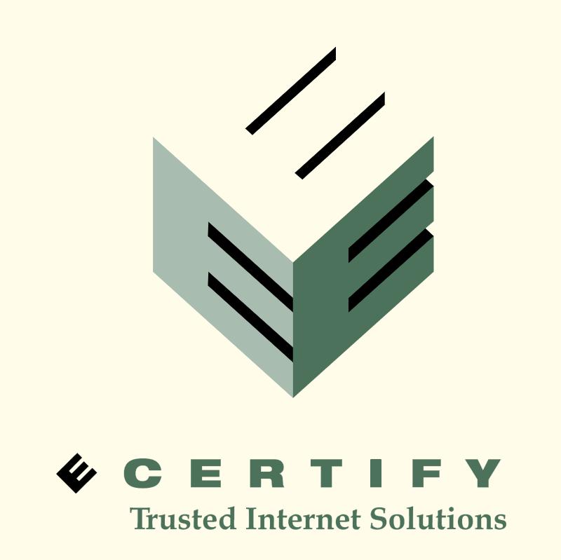 E Certify vector