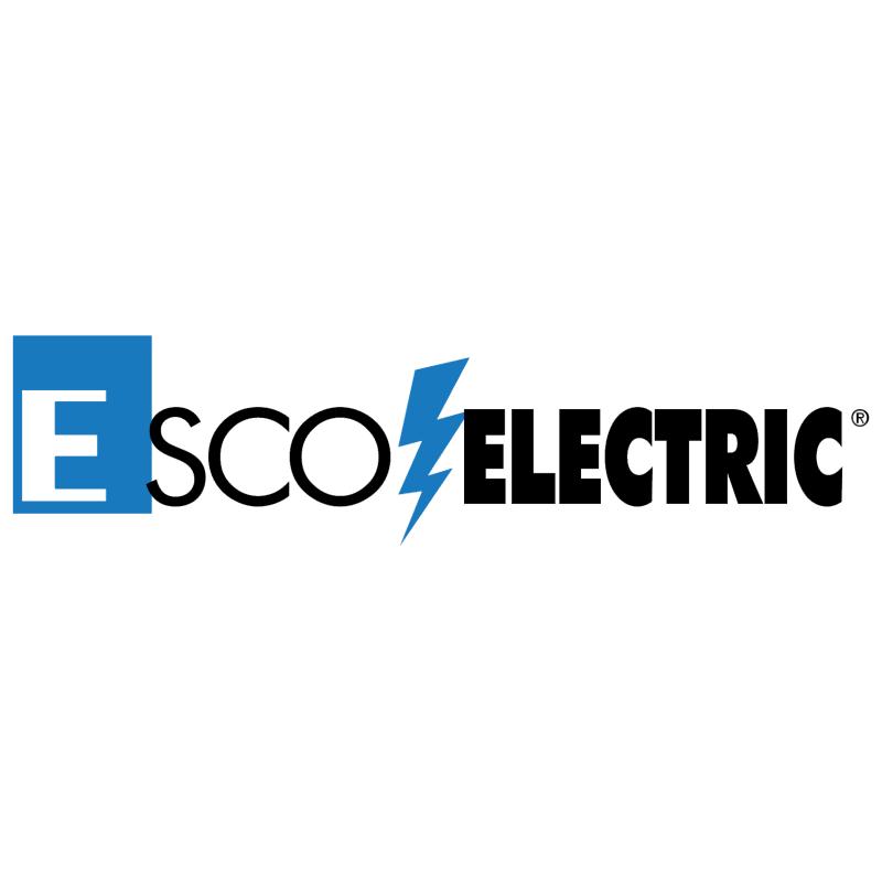 EscoElectric vector logo