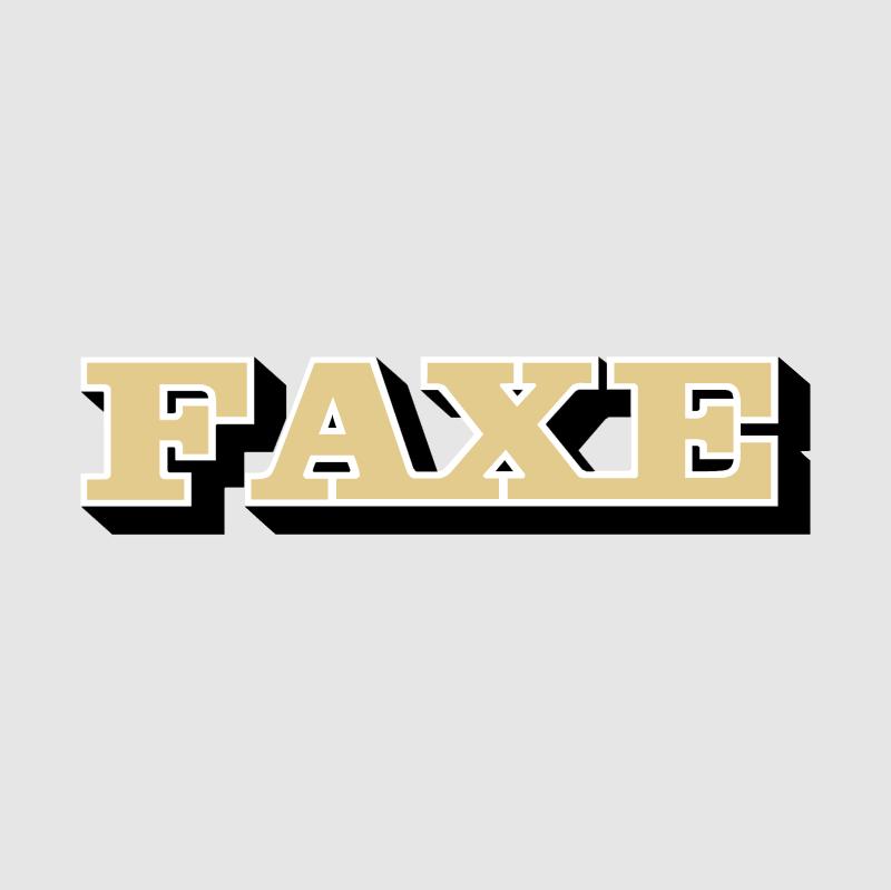 Faxe vector