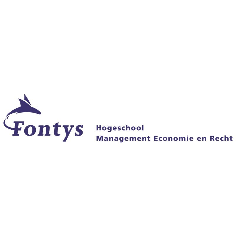Fontys Hogeschool Management Economie en Recht vector