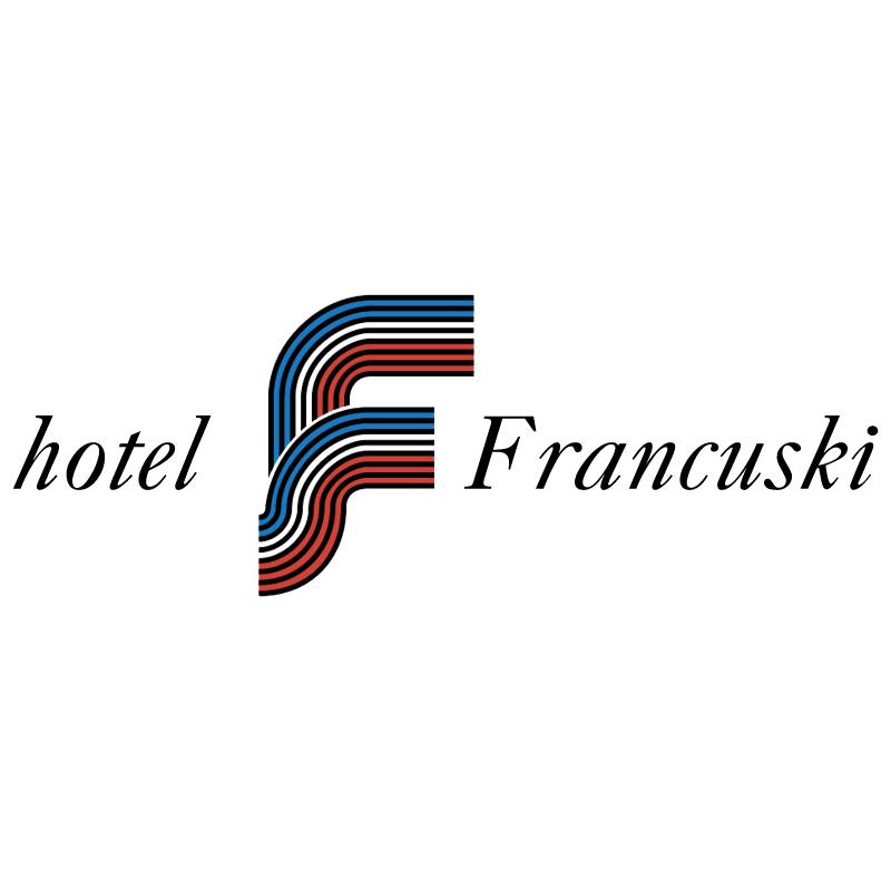 Francuski Hotel vector logo