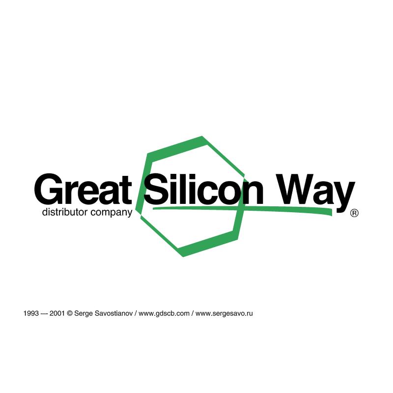 Great Silicon Way vector logo