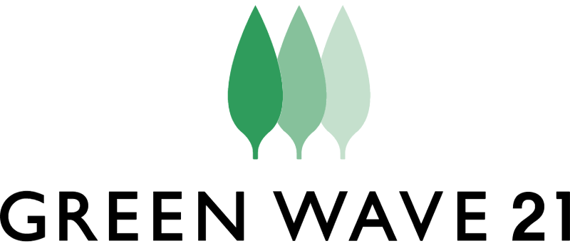GREEN WAVE vector