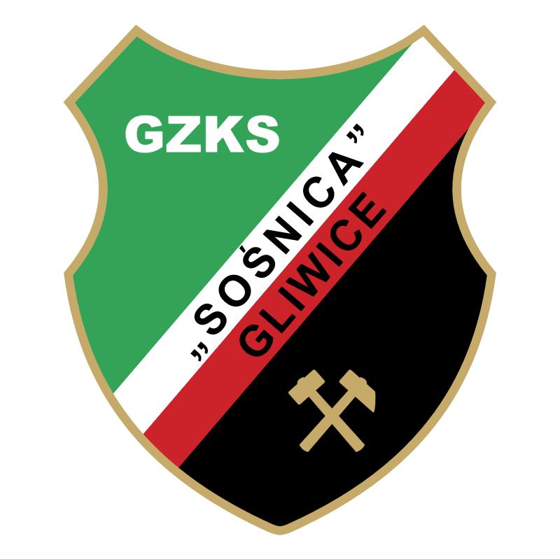 GZKS Sosnica Gliwice vector logo