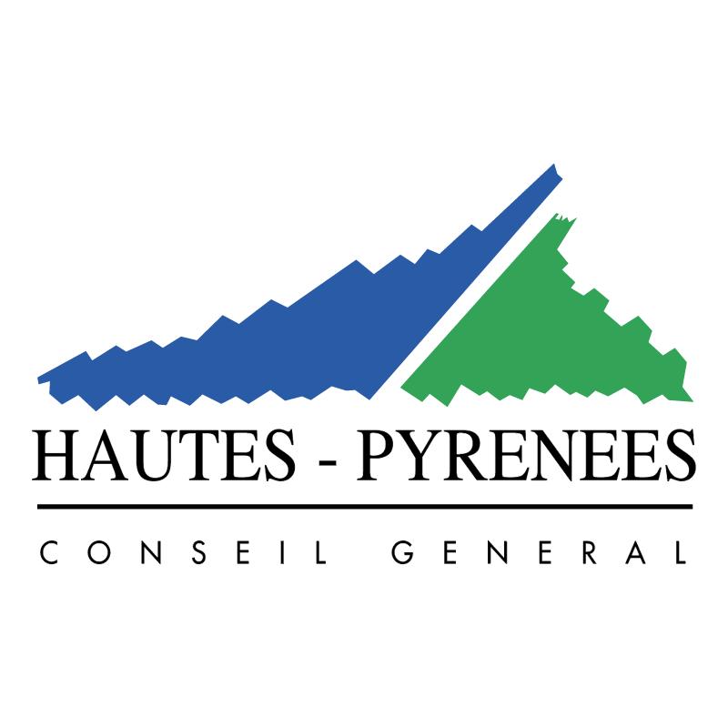 Hautes Pyrenees Conseil General vector