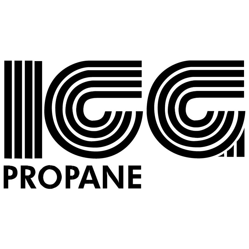 ICG Propane vector logo