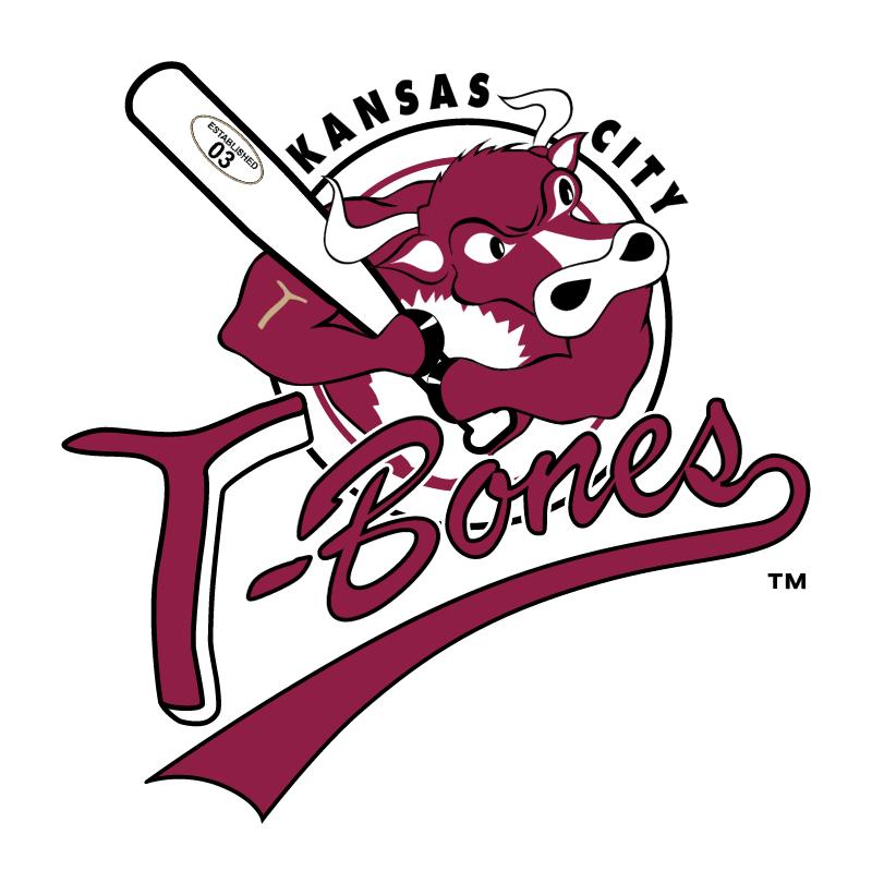 Kansas City T Bones vector logo