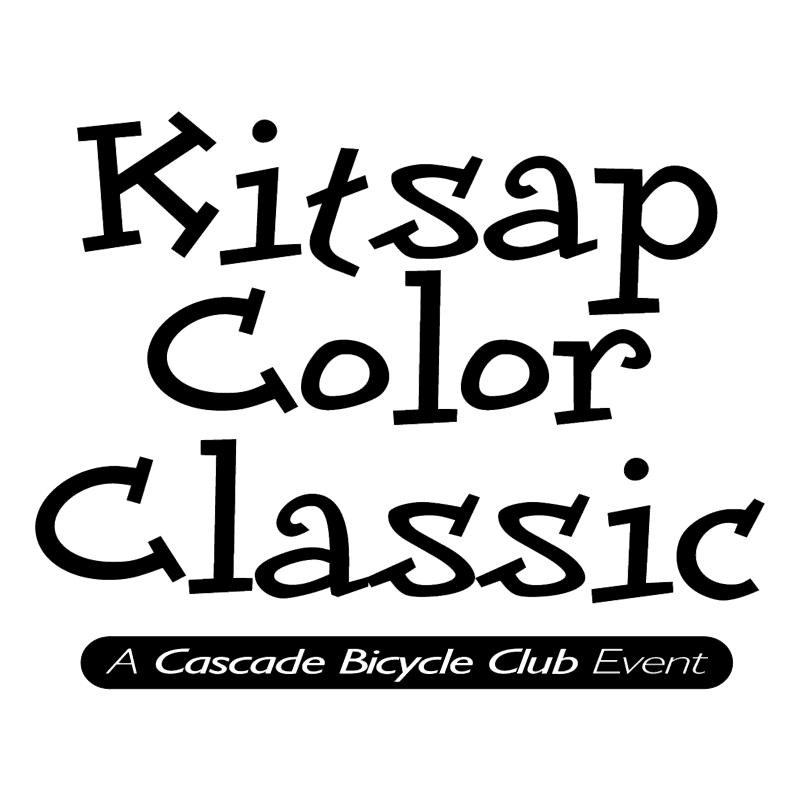 Kitsap Color Classic vector